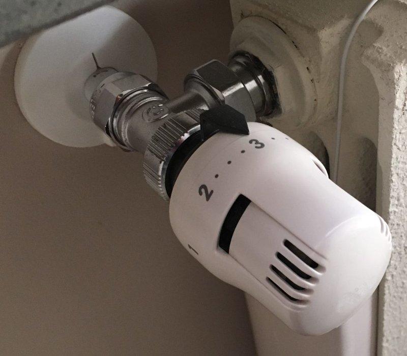 Regolare valvole termostatiche meccaniche
