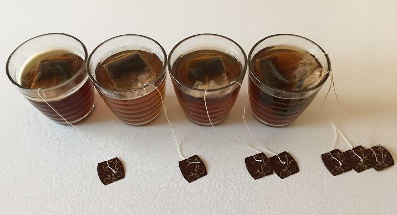Riutilizzare le bustine di tè e tisane