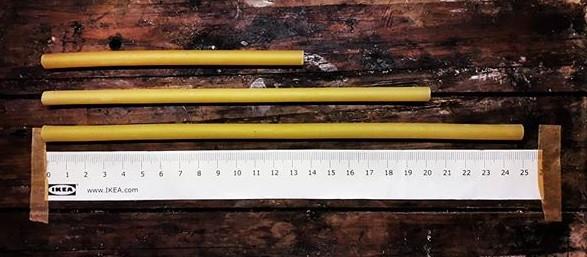 Cannuccia di pasta nei vari formati e lunghezze