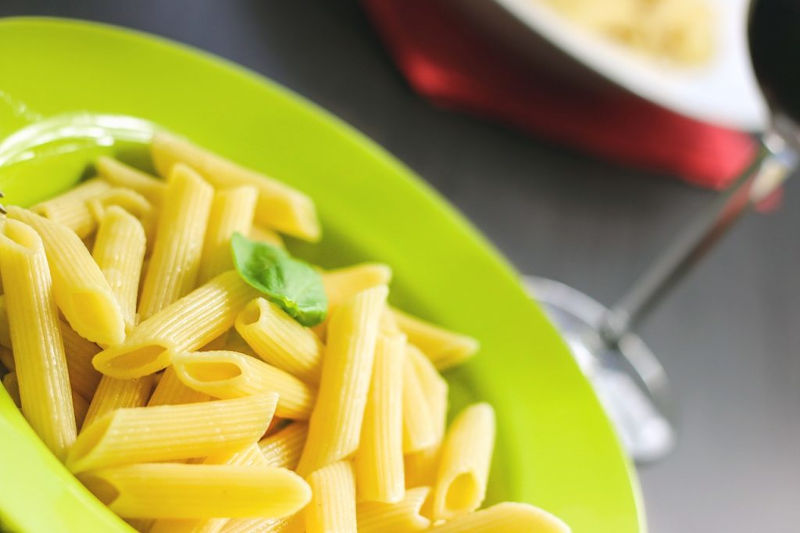Cottura passiva della pasta